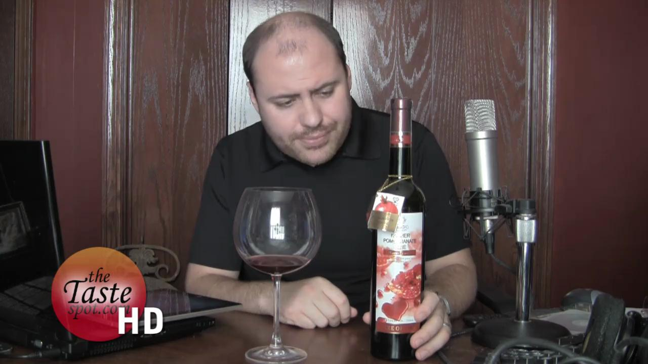 Tree of Life Pomegranate Wine Review