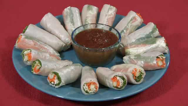 Fresh Thai Spring Rolls Recipe