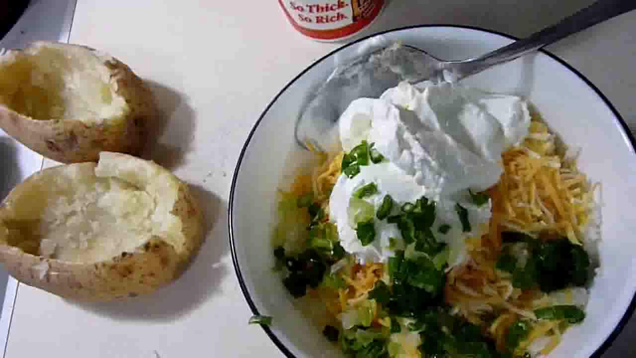 Easy Baked Potato