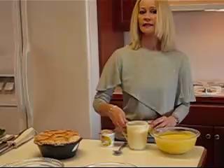 Light Lemon Filled Low Cal Angel Cake Recipe