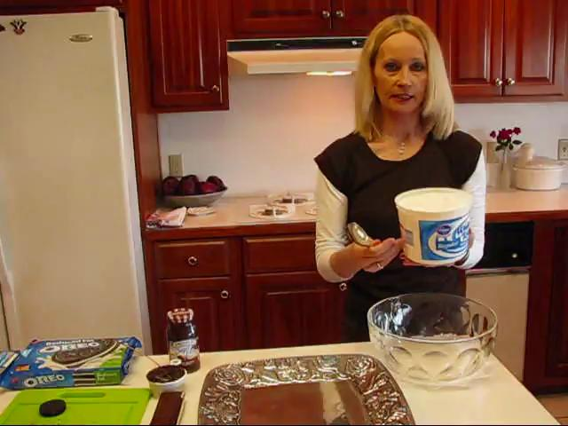 Chocolate Ice Cream Sandwich Cake Recipe