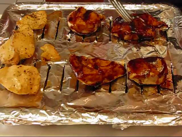 Oven Barbecued Chicken Breasts Recipe