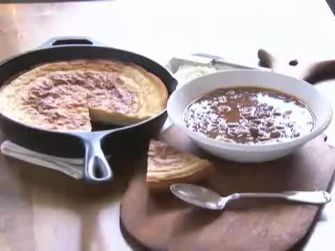 Cornbread and Pinto Beans Recipe