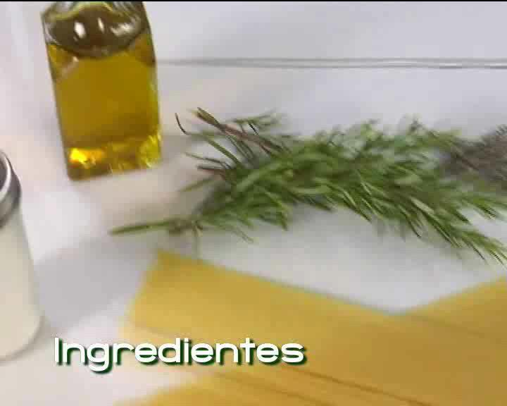 Dieta Comidas Adelgazantes-Espaguetis-Video receta