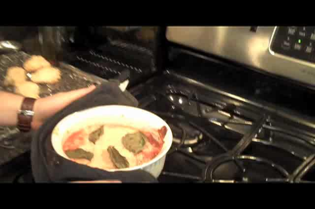 Pimp Shrimp Parmesan