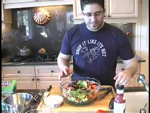 How to Make a Strawberry Steak Salad - Valentines Day Edition