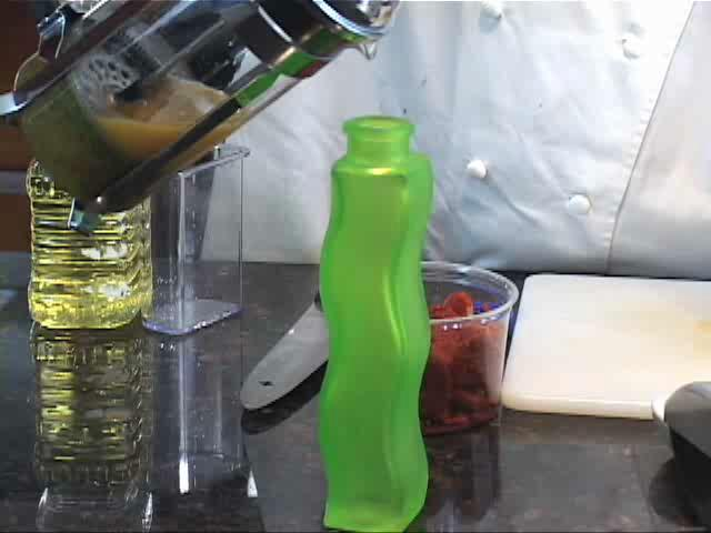 How to Make Basil and Tomato Infused Oil