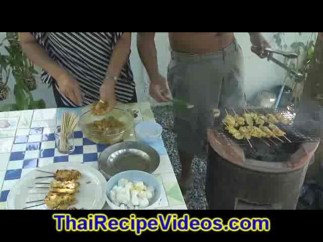 Chicken Satay- Chicken Satay Peanut - Chicken Satay Recipe