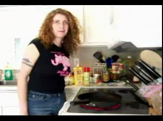 Make Kitchen Sink Shrimp Fried Rice - Eating Low with Amy 14