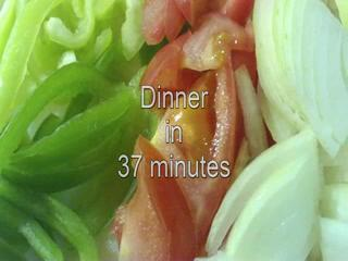 How to cook dinner in 37 minutes
