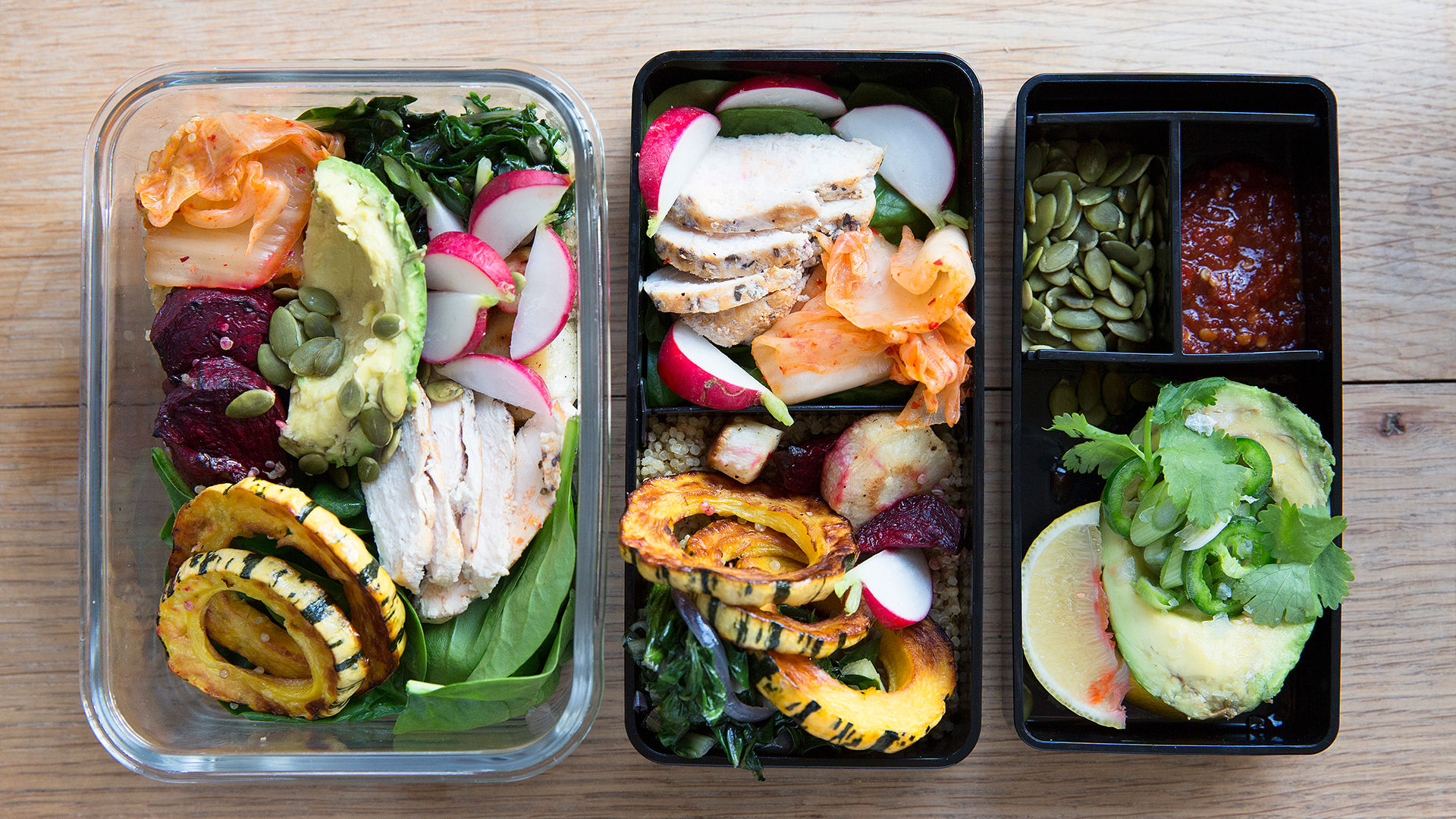 A Healthy Lunch Idea for the New Year: Homemade Bento Box