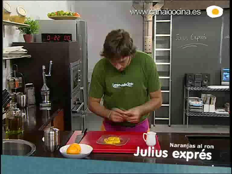 Cómo preparar la receta de naranjas al ron
