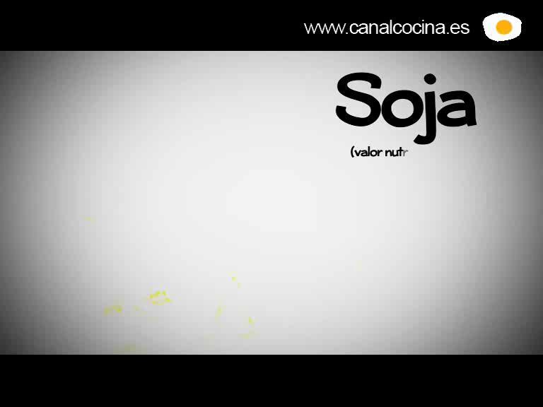 Sabes lo que comes: Soja