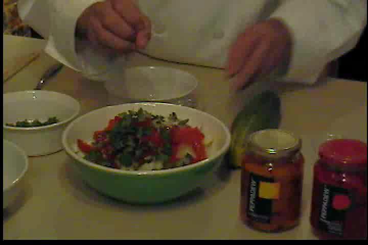How to make Peppadew Cucumber Salad