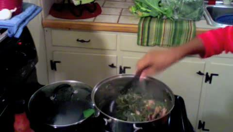 Collard Greens : How to Cook Southern, Soul Food Collard Greens