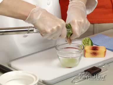 Quesadilla Cups with Nectarine Salsa Recipe