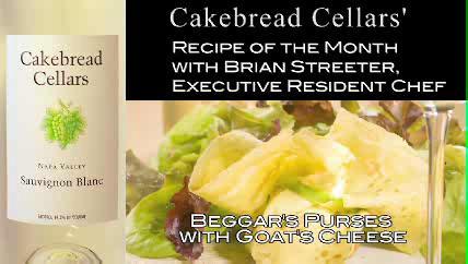 Goat's Cheese Beggars Purses Recipe