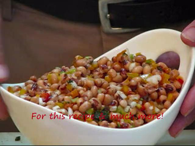 Blackeyed Pea Salad Recipe