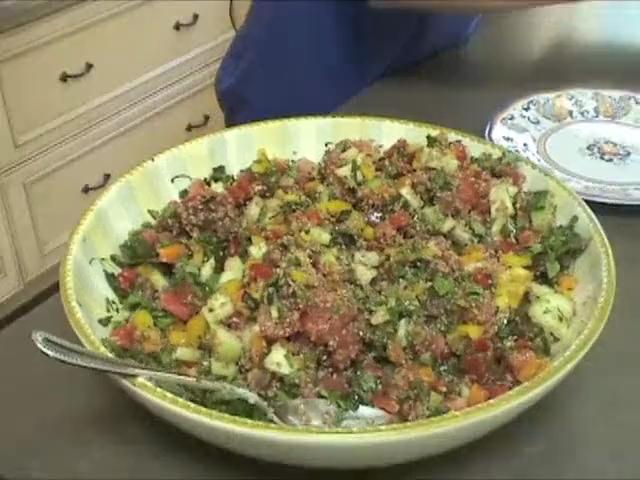 How to Make Tabbouleh with a Californian Twist