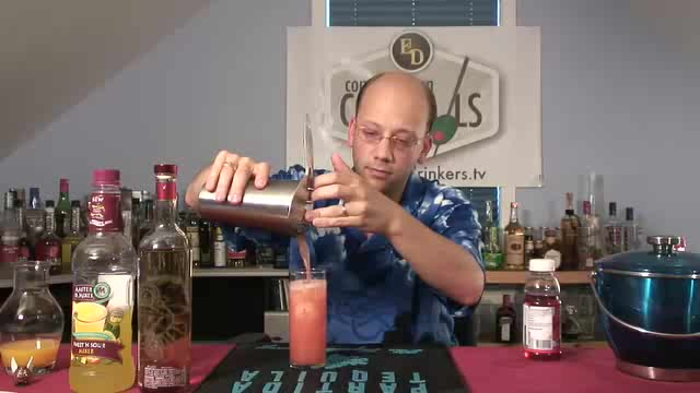 How to Make a Sex on a Mexican Beach Cocktail