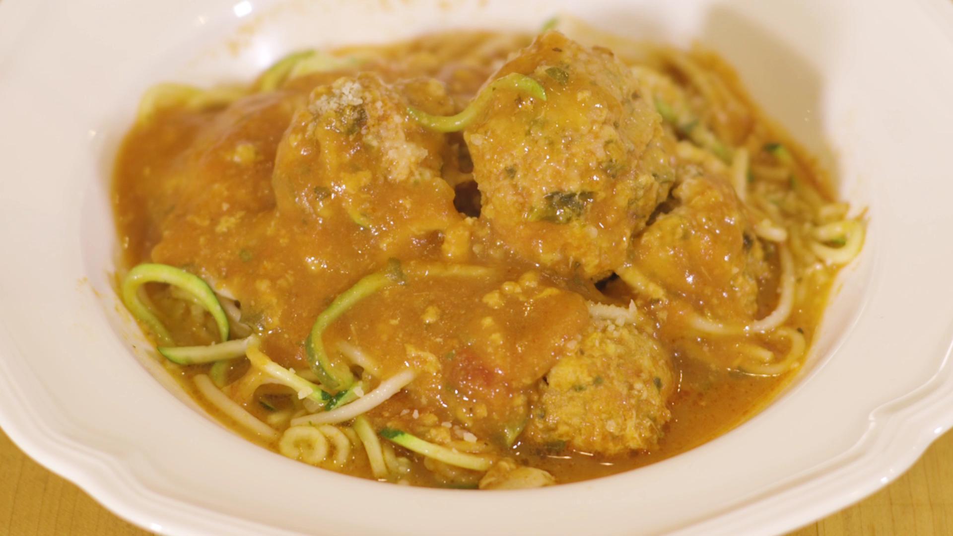Healthy Spaghetti and Meatballs Recipe
