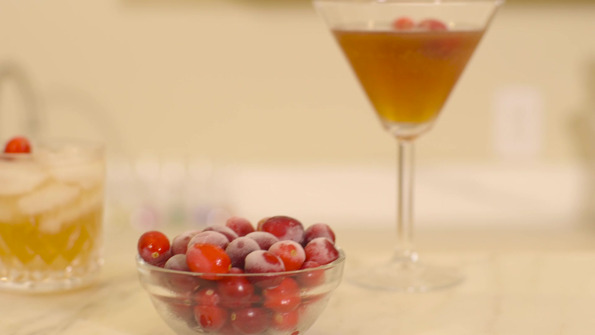 Dinner Reinvented - Cranberry Cocktails