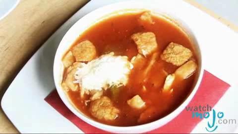 How to Make Sopa de Tortilla