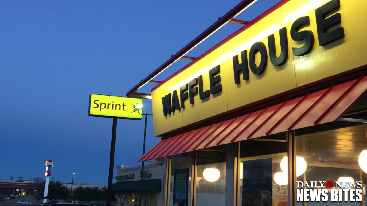 SEE IT- Arkansas Waffle House Employees Doing Hair in the Kitchen