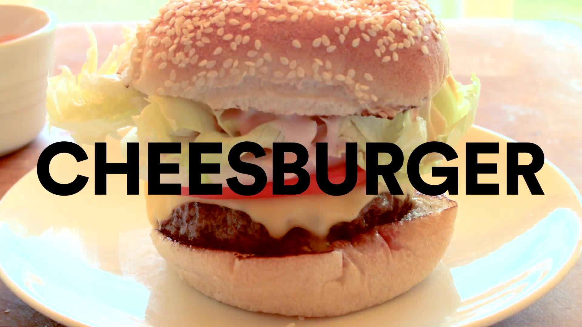 The Perfect Homemade Cheesburger