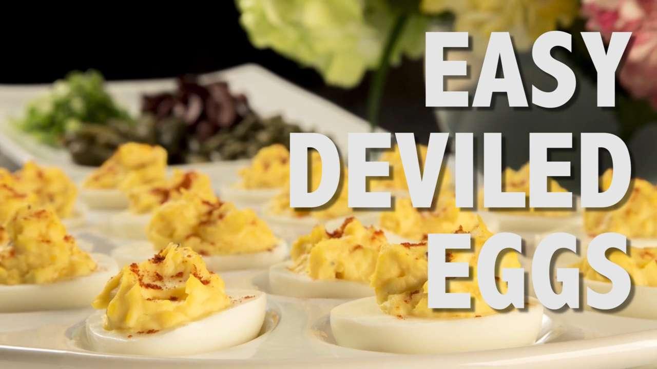 Time Crunchers: Deviled Eggs