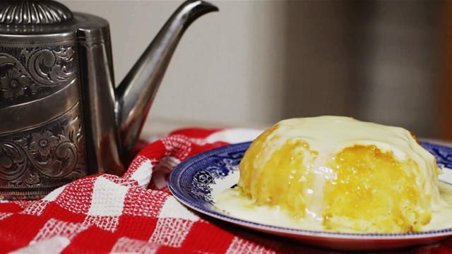 Super Sticky Treacle Pudding Recipe