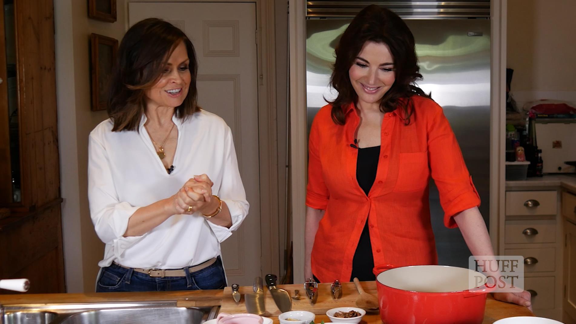 Nigella Lawson Cooks in Lisa Wilkinson's Kitchen