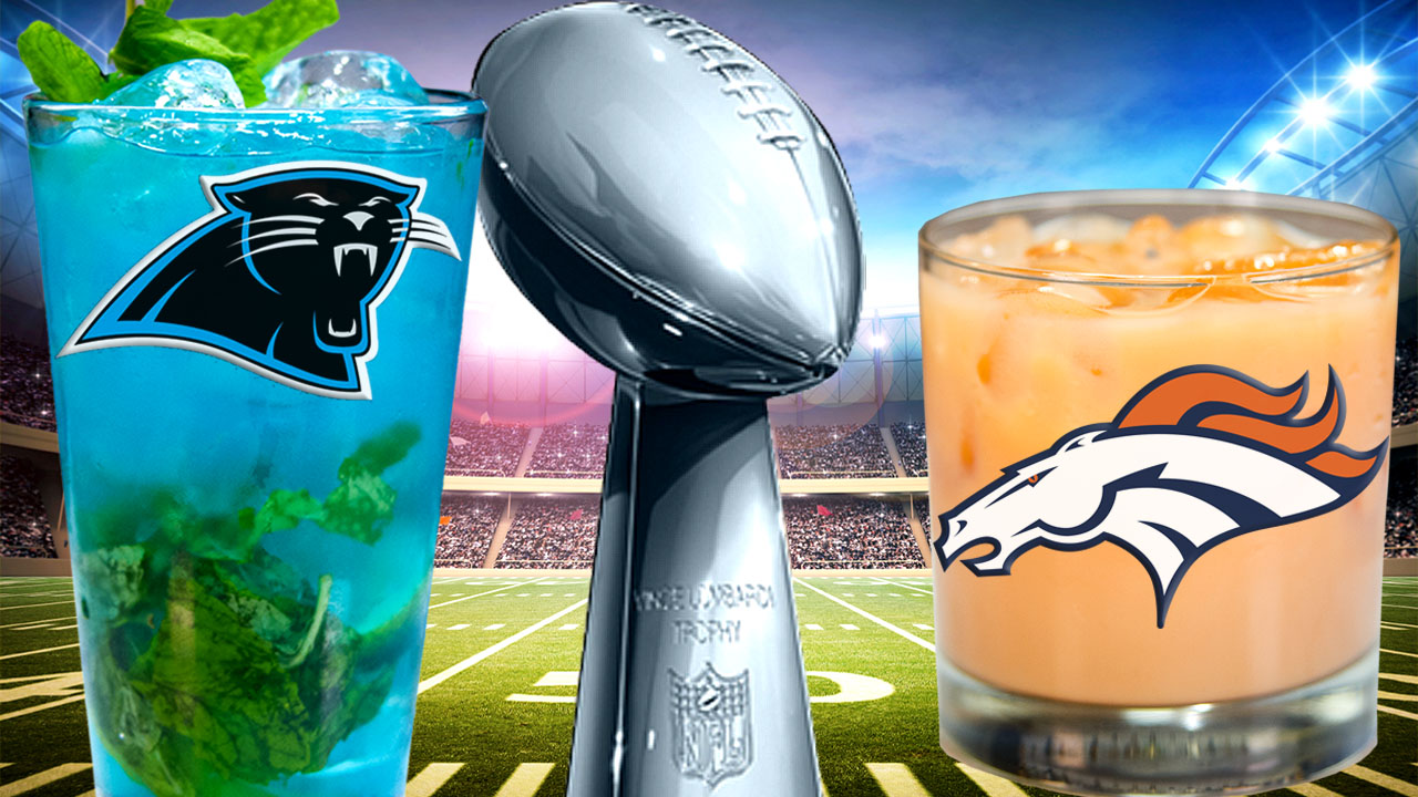 Super Bowl 50 Cocktails: Carolina Pint Vs Denver Highball