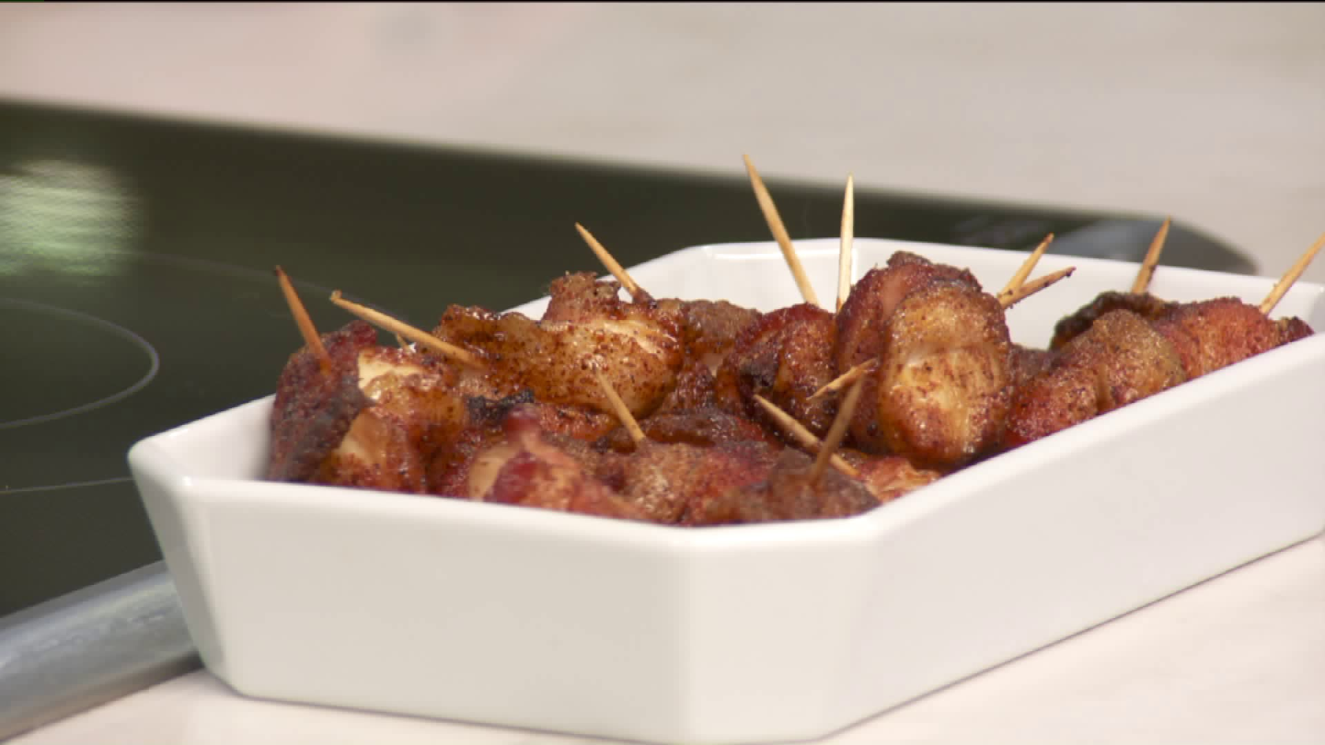 How To Make Bacon-Wrapped Chicken Bites
