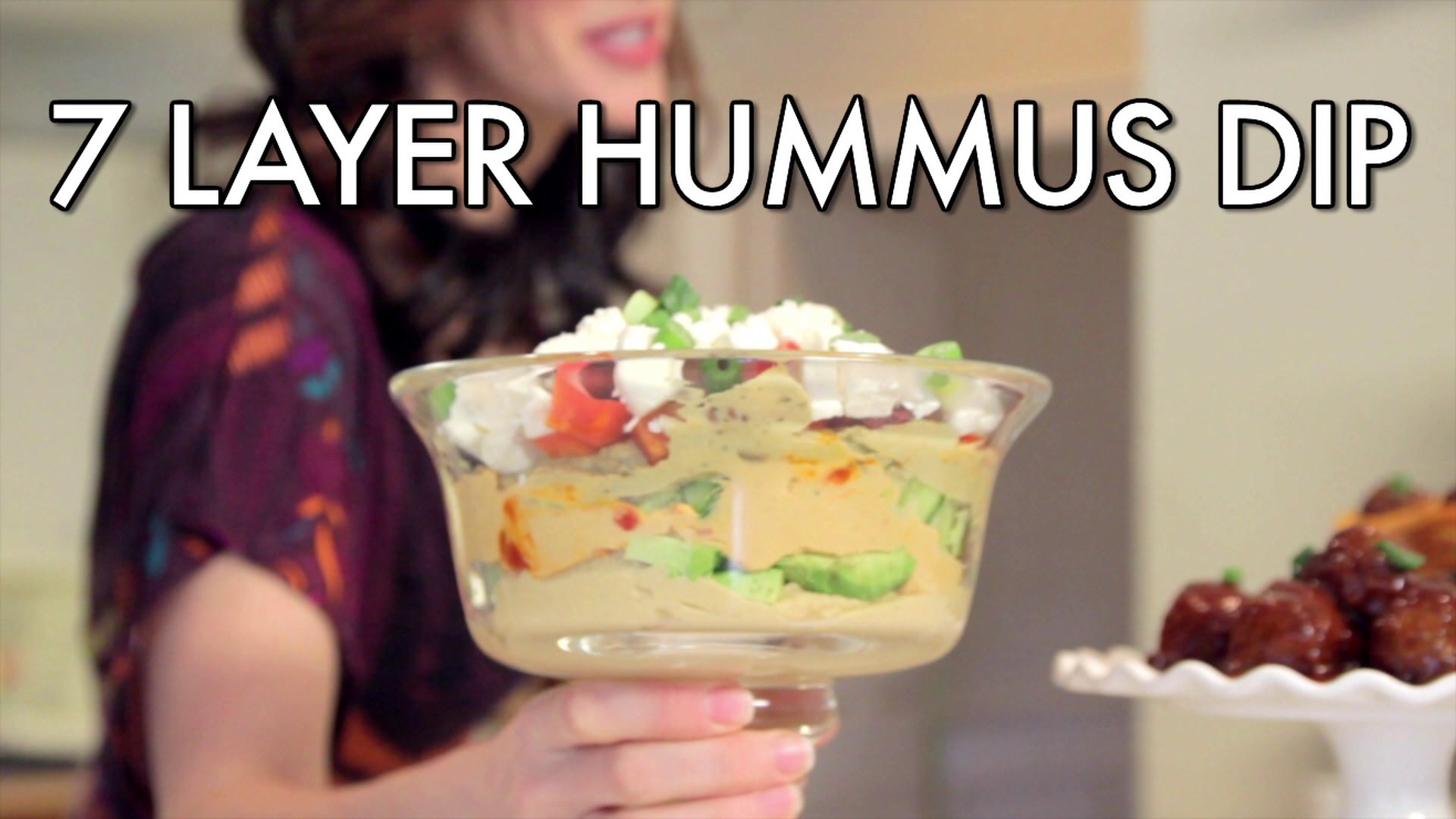 Seven Layer Hummus Dip