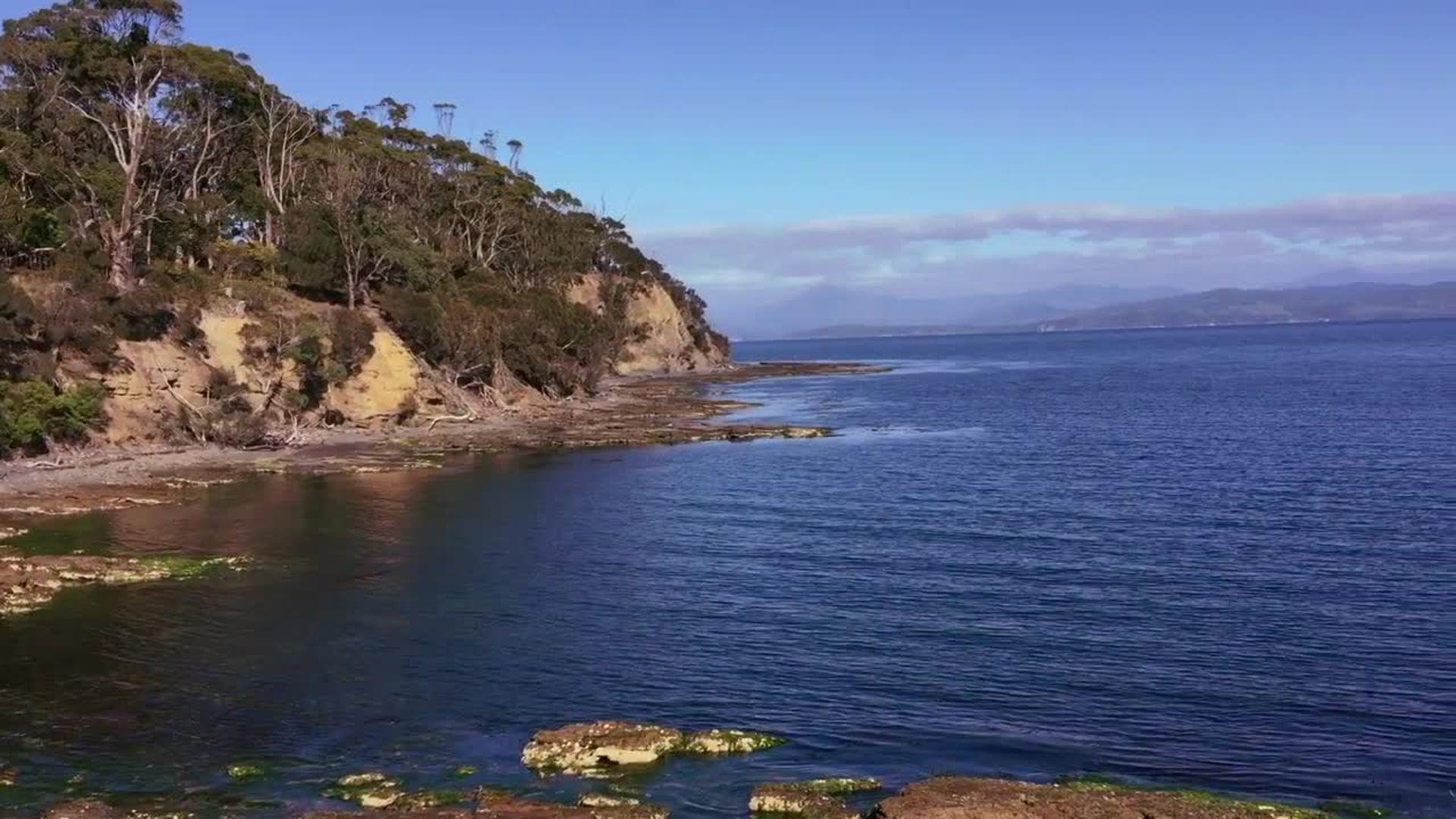 Satellite Island off of Tasmania