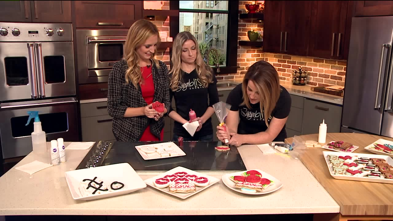 How To Decorate Sugar Cookies For Valentine's Day