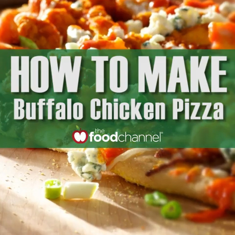 How to Make the Best Buffalo Chicken Pizza Ever!