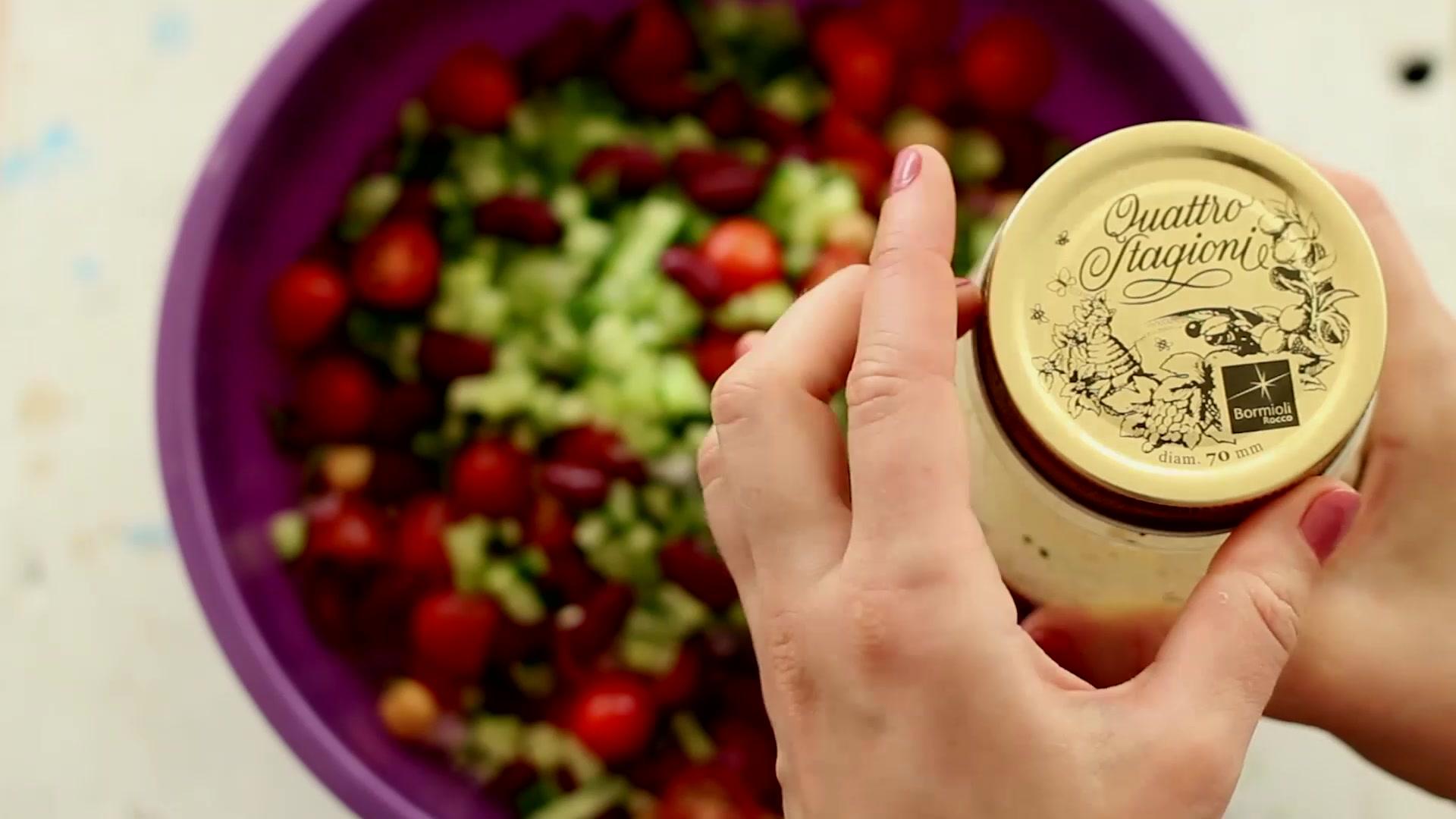 Parsley and Bean Salad Recipe