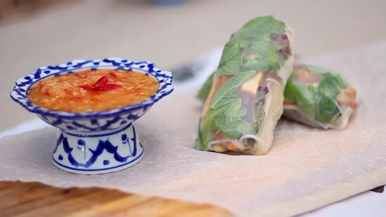 How to Make Marinated Tofu Rolls