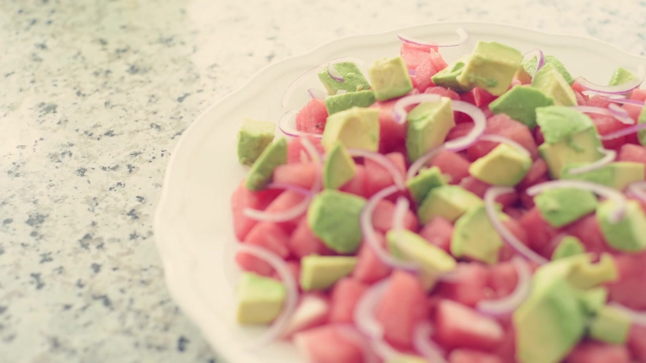Watermelon, Feta and Jalapeno Salad Recipe