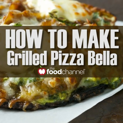 How to Make the Best Grilled Mushroom Pizza Ever!