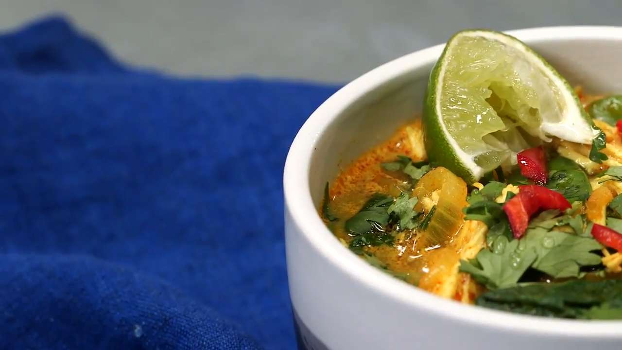 How to Make Coconut Curry Chicken Soup