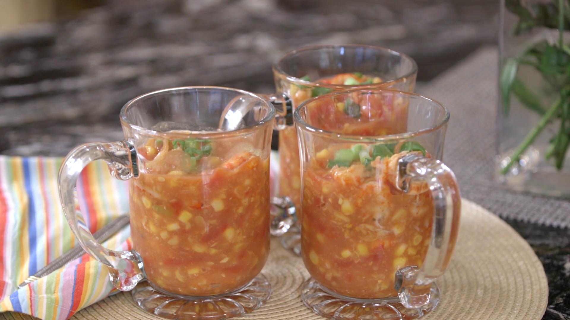 Rush Hour Recipes: Crawfish Corn Soup