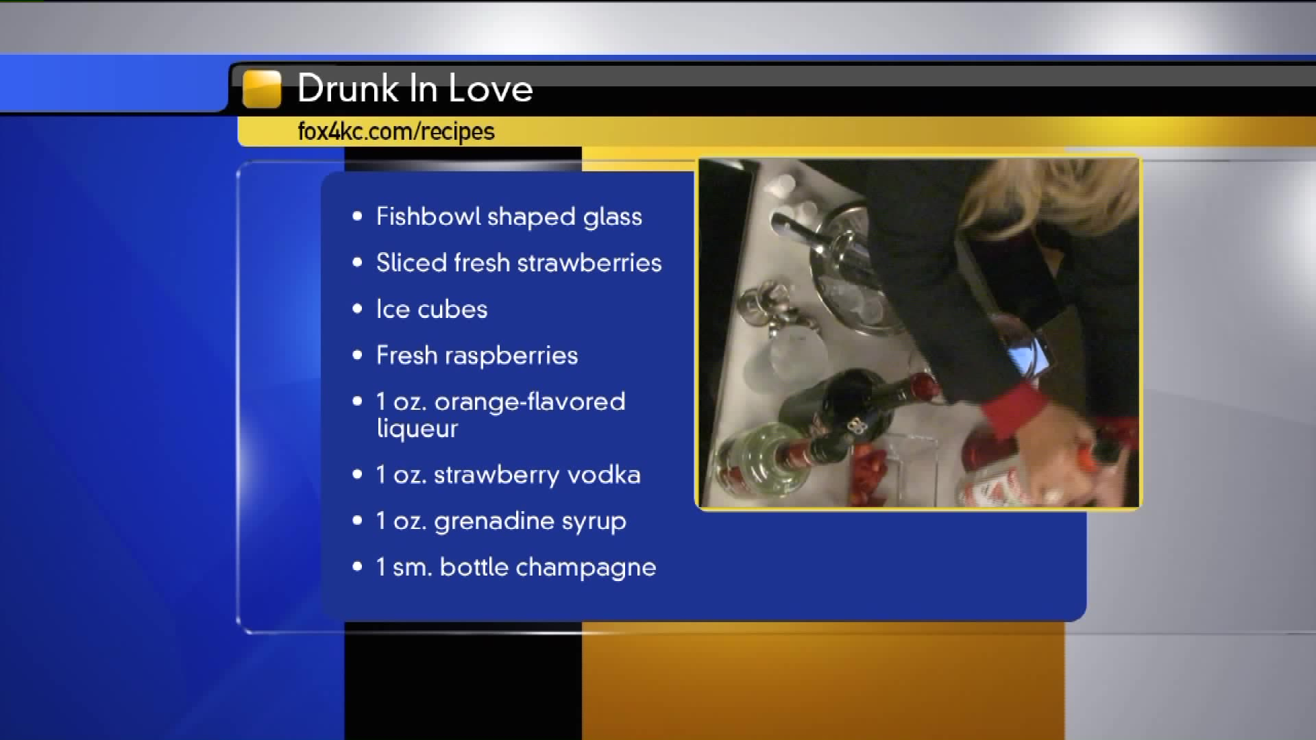 How To Make The Drunk In Love Cocktail For Valentine's Day