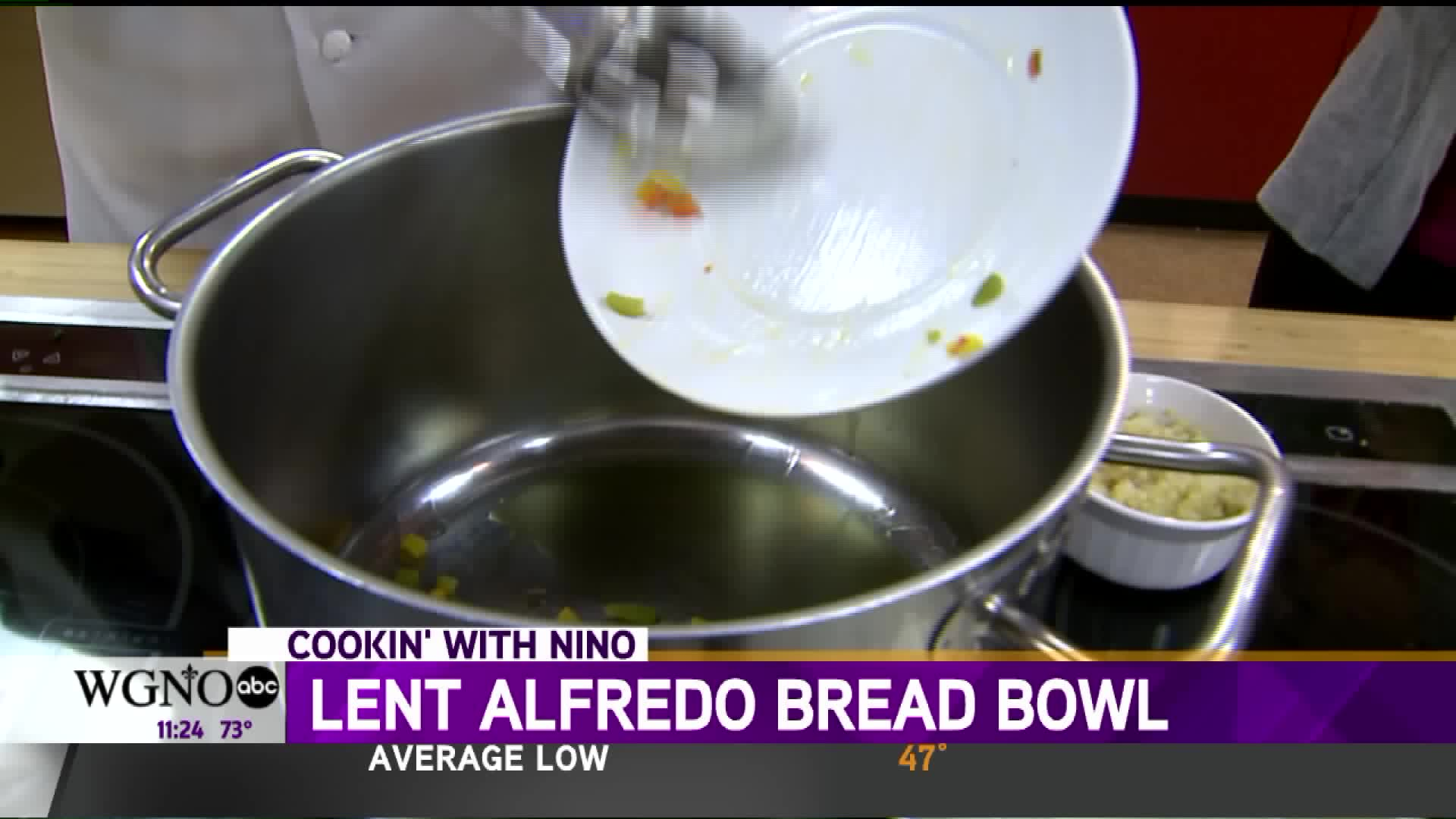 How To Make An Alfredo Bread Bowl