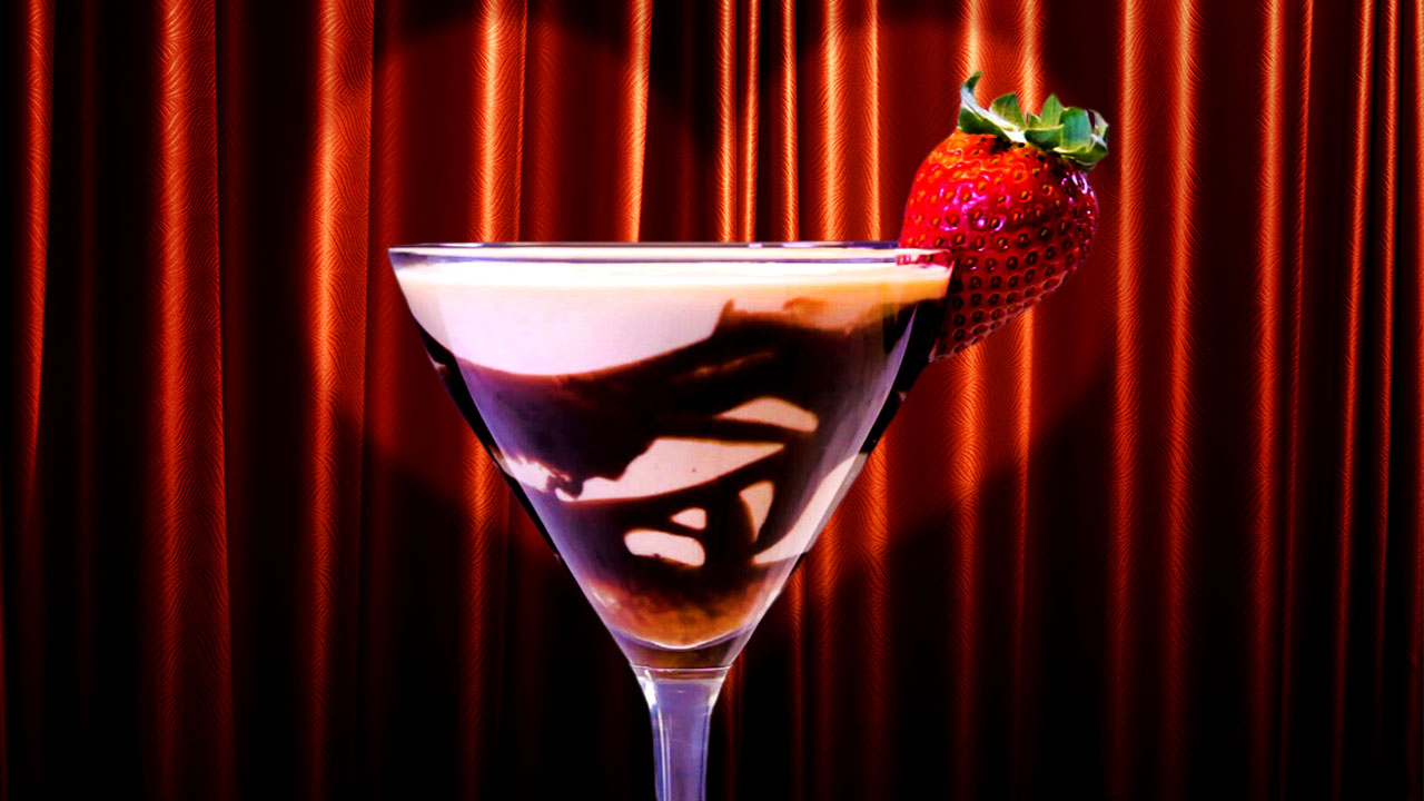 Toast to Love Valentine's Day With Our Chocolate Covered Strawberry Martini