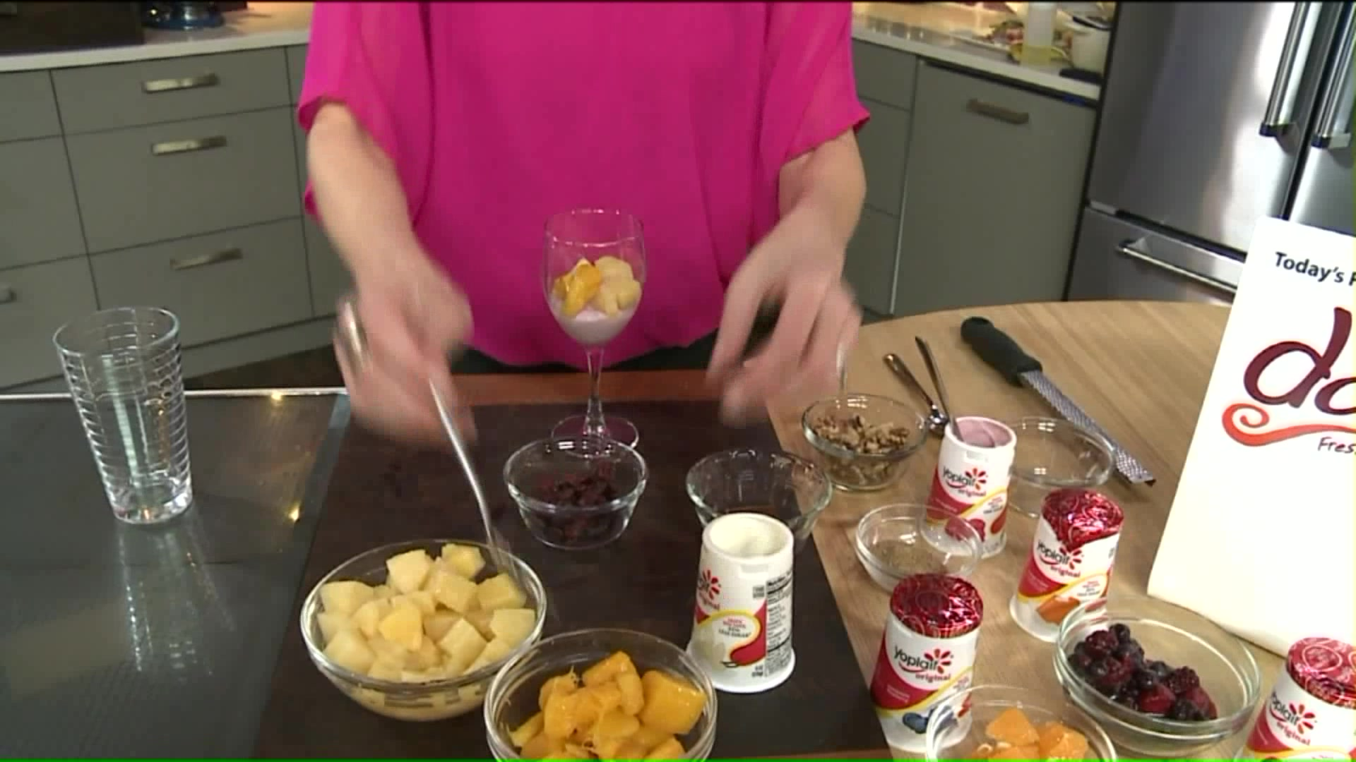 How To Make Tropical Yogurt Parfaits