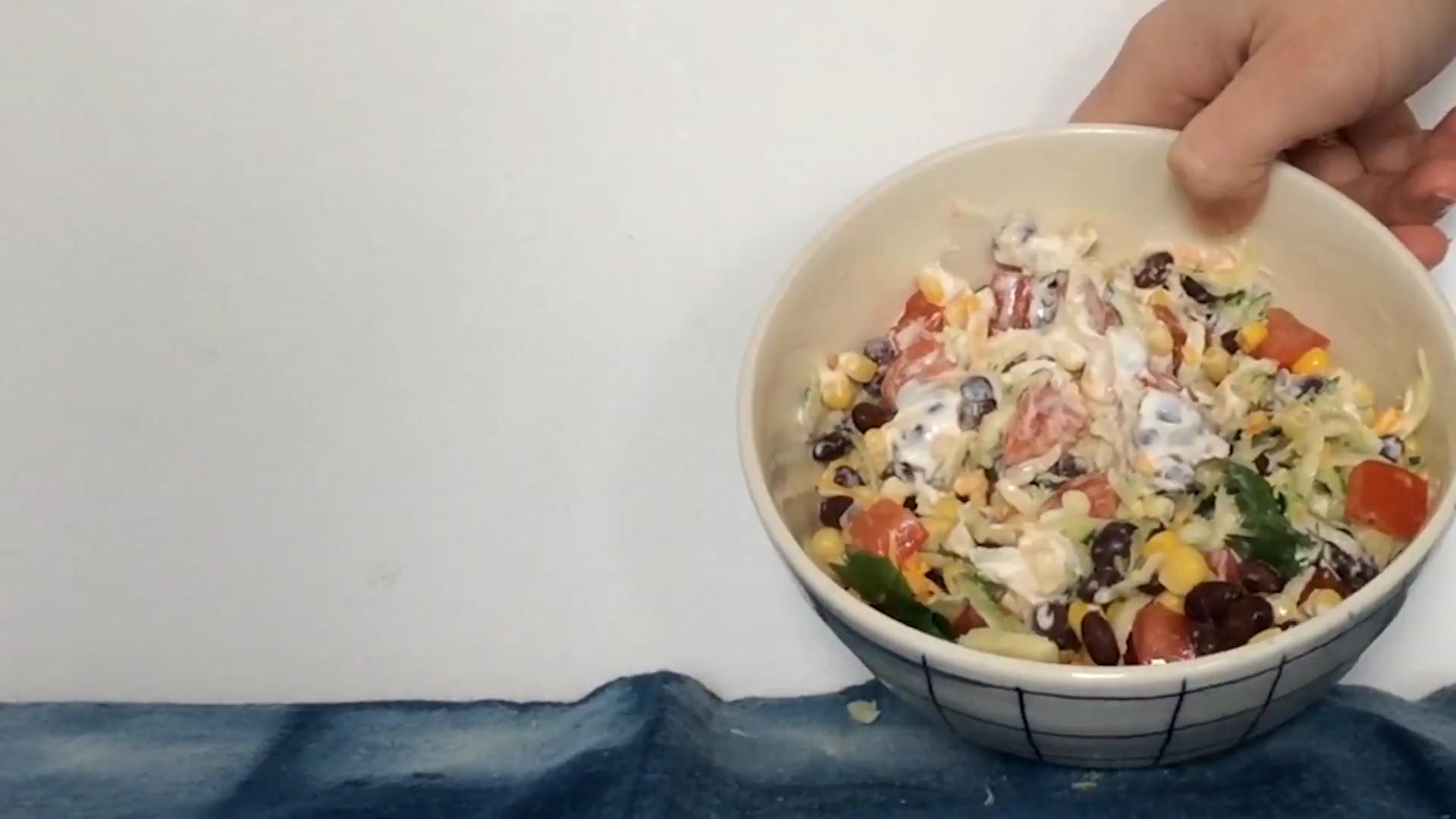 Good-for-You Tex-Mex Salad Recipe