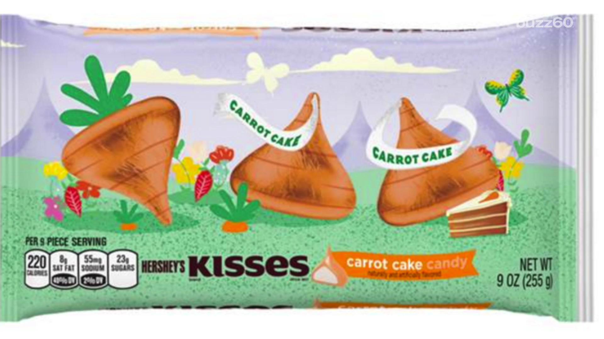 Hershey's Unveil Carrot Cake Flavored Kisses